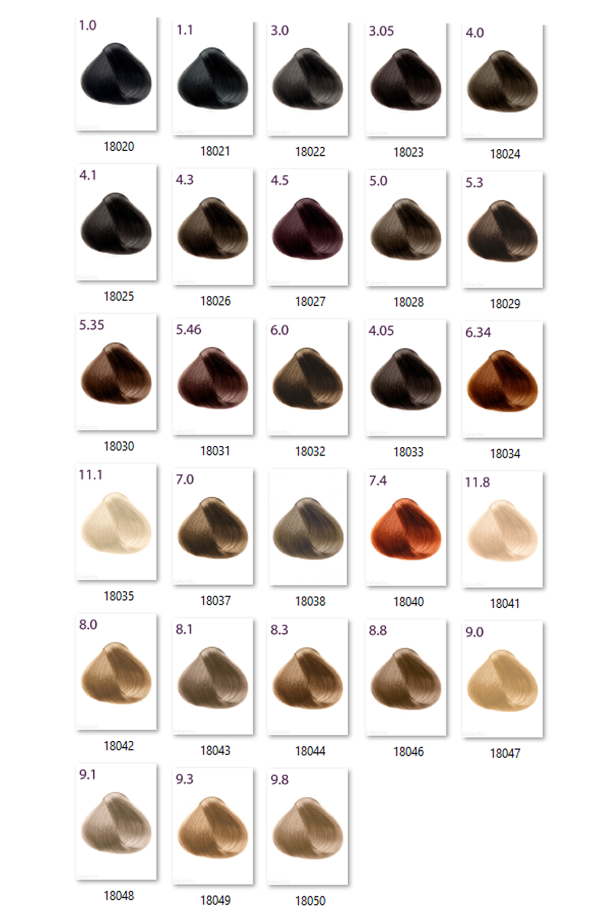 Faberlic Expert Color Kalici Sac Boyasi 115gr